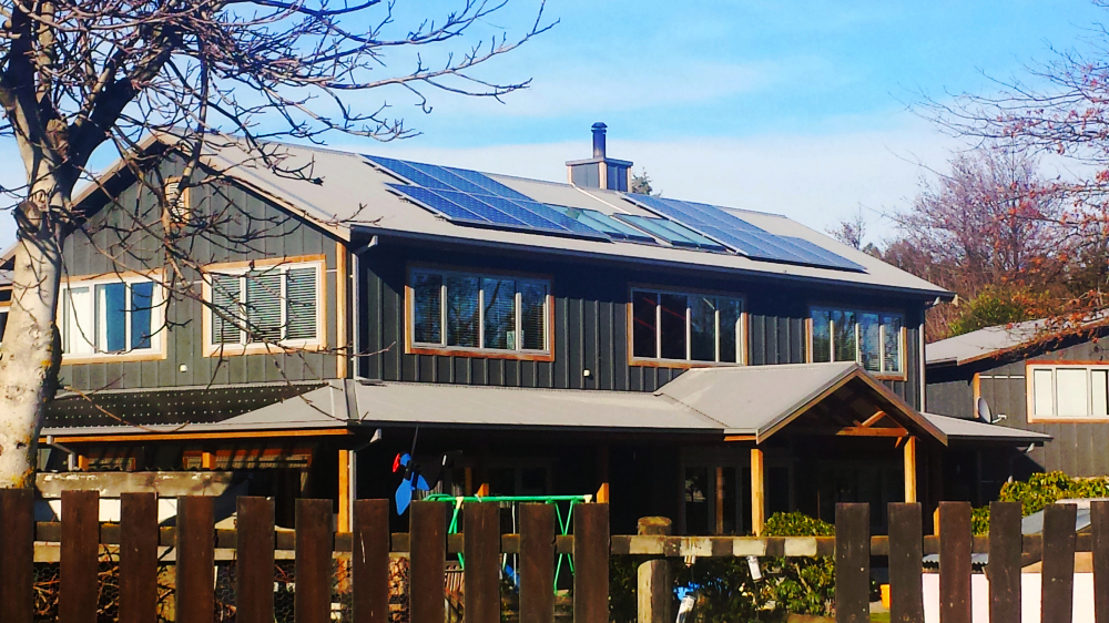 solar panel installation, Christchurch